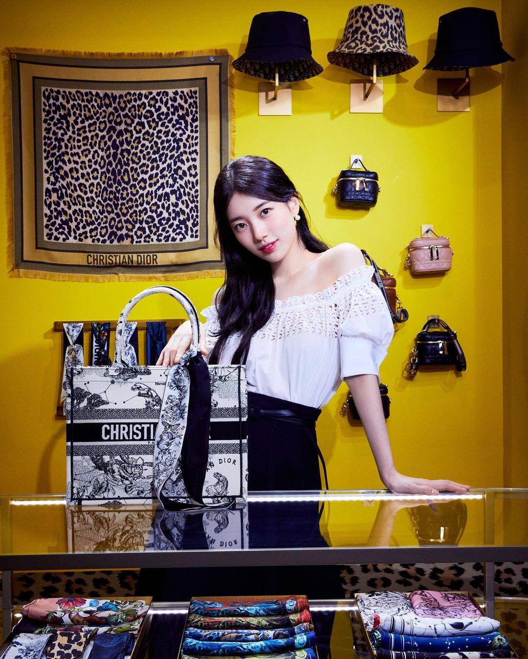 Bae Suzy for DIOR