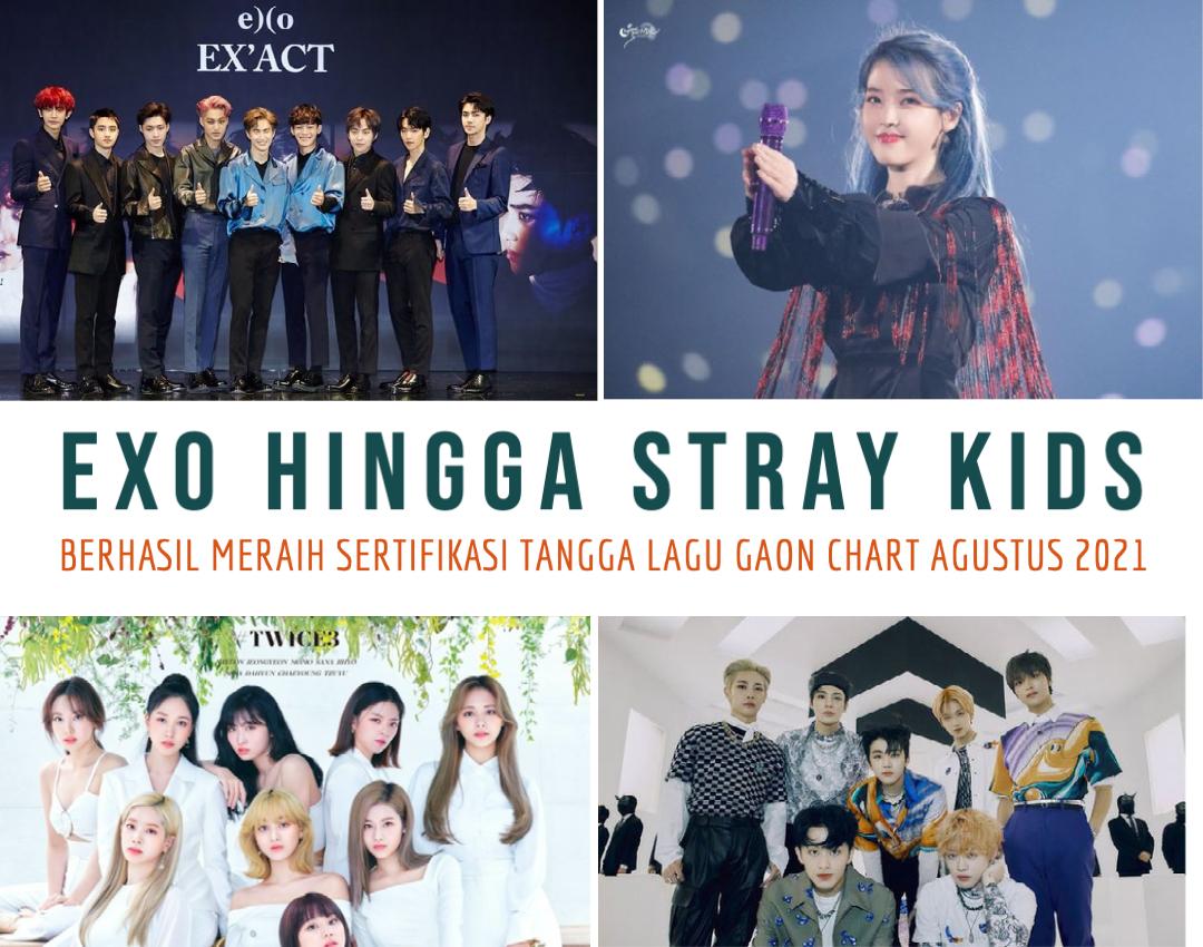 EXO Hingga STRAY KIDS