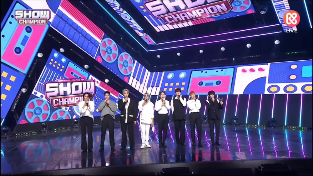 ATEEZ Meraih Kemenangan Pertama Untuk Lagu Deja Vu Di Show Champion