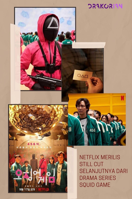 Netflix Merilis Still Cut Selanjutnya dari Drama Series Squid Game